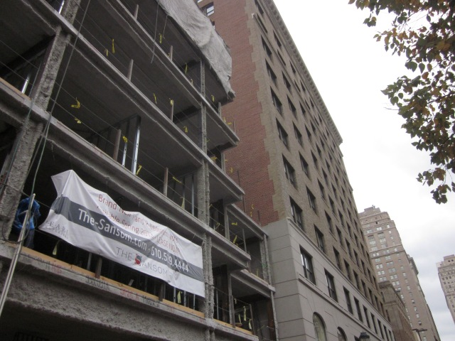 The Sansom and Oakwood Residences, next door on 16th Street