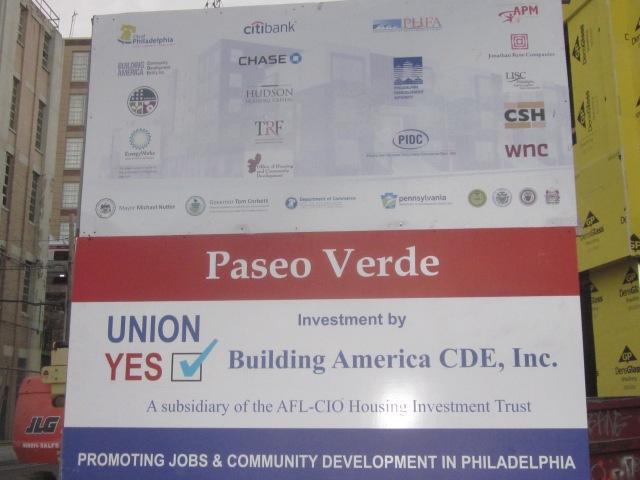 Sponsors of Paseo Verde