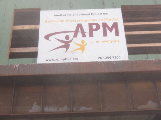 Sign for APM