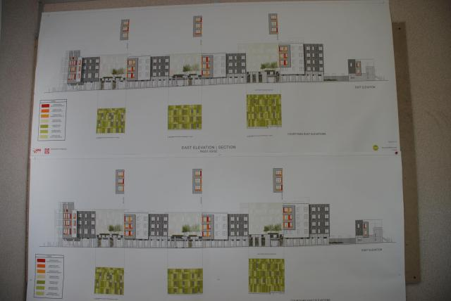Elevation drawings for Paseo Verde