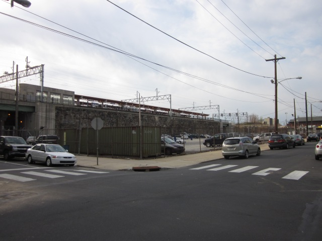 Former PGW parking lot, from 9th & Berks