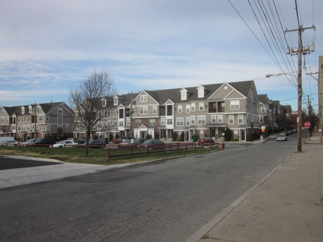 Townhouses, built by Westrum, on 31st Street