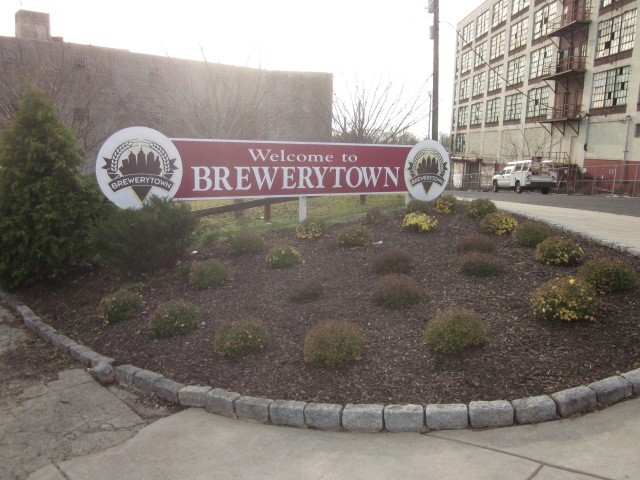 Sign for Westrum's Brewerytown development @ 31st and Glenwood