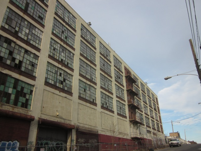 Eastern facade of 3101 Glenwood, from Glenwood Avenue