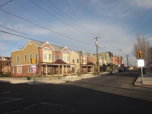 New townhomes at 32nd Street and Cecil B. Moore Avenue