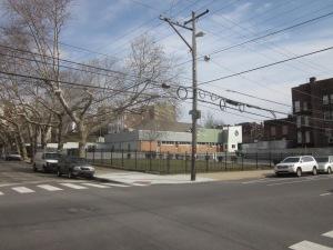 site of new apartment bldg. @ 43rd & sansom