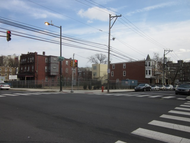 This empty lot, nearby at 43rd & Chestnut Streets, could be developed some day