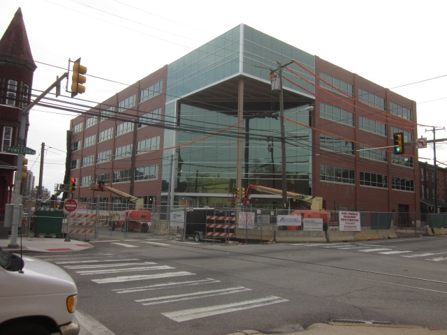 2.0 University Place office building, @ 41st Street & Powelton Avenue, is near the new apartment building at 43rd & Sansom