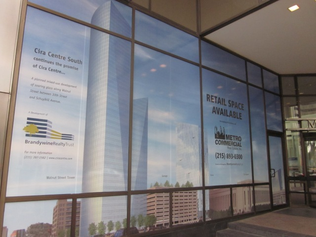 Another rendering of Cira Centre South, on 1900 Market Street