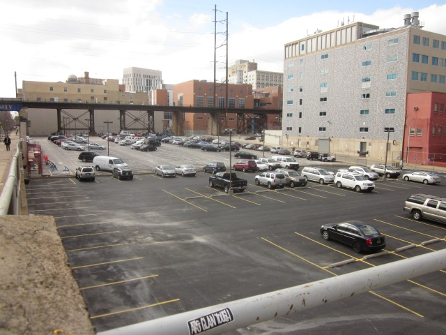 Parking lot, @ the northwest corner of 30th & Chestnut, will be developed by Drexel and private developers someday