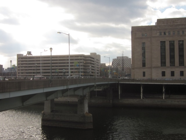 The Grove at Cira Centre South site, from across the Schuylkill River