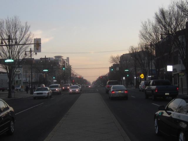 Looking south down Broad Street