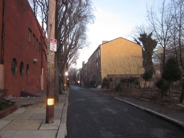 Rodman Street, behind Southstar Lofts