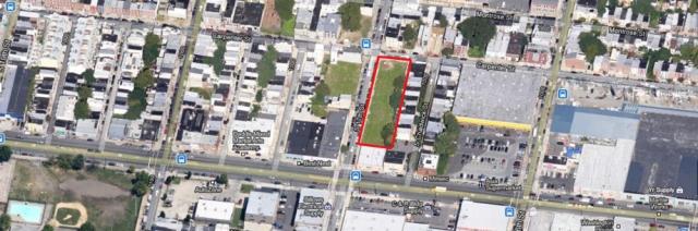 Aerial view of Carpenter Square site