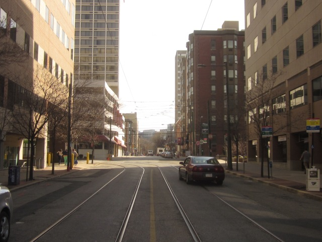 Looking south on 36th Street