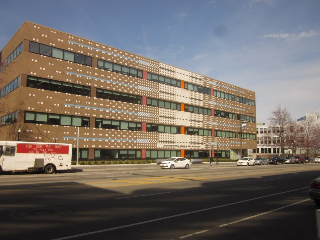Westphal Building of Drexel's College of Art & Design, east of 3535 Market Street