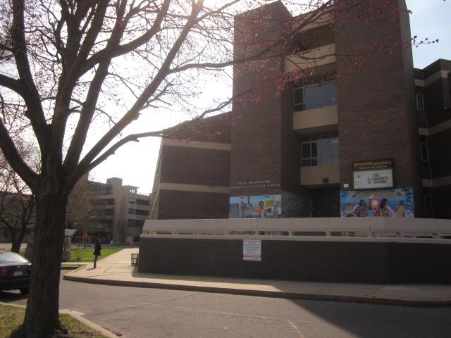University City High School, just north of 3601 Market Street
