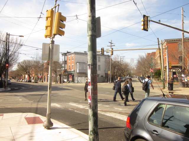 Intersection of 36th Street & Lancaster Avenue