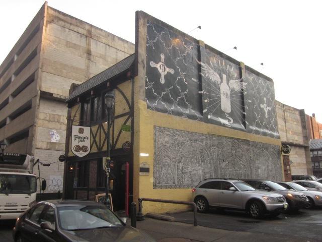 Front of Fergie's Pub, on Sansom Street