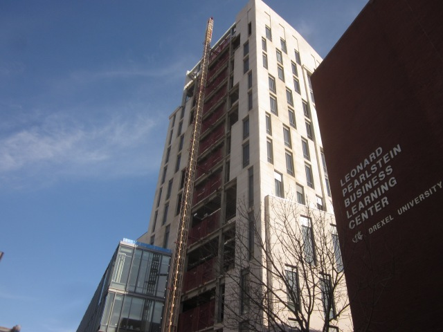 New building for Drexel's Lebow College of Business, at 32nd & Market Streets