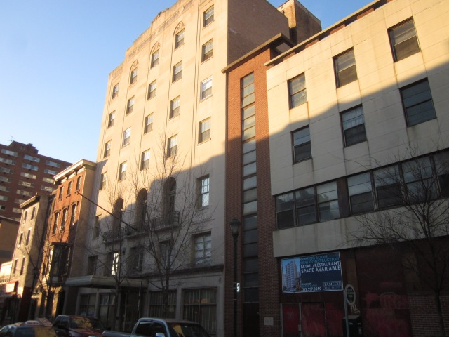 The former YWCA building next door, now the Freire Charter School