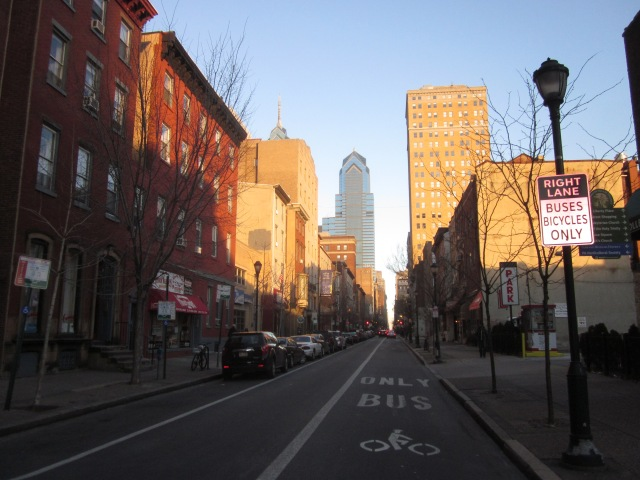 The 2000 block of Chestnut Street