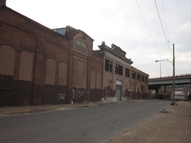 Ajax warehouse on Richmond Street side