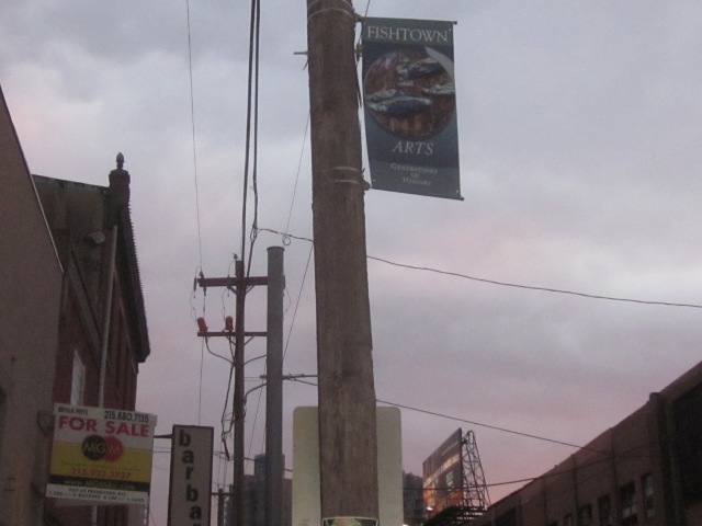 Fishtown banner on Frankford Avenue
