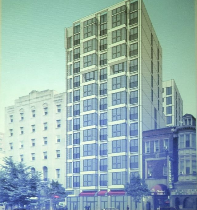 Rendering of 2021 Chestnut Street apartments