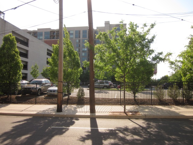 Future site of Edgewater II, from 23rd Street