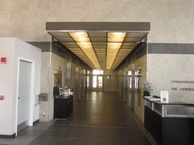 Elevator lobby of Tower Place