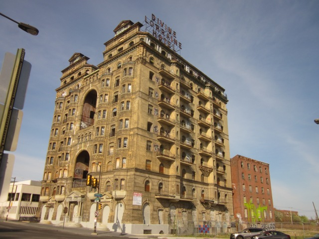 Divine Lorraine Hotel at Broad, Ridge, and Fairmount Avenue