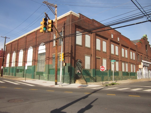 Existing SEPTA electrical substation, just west of 1221 Mt. Vernon Street, will remain