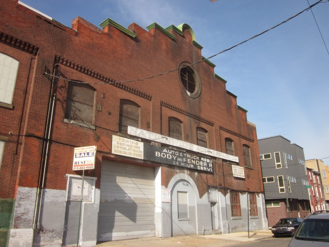 Facade of 1221 Mt. Vernon Street will be altered