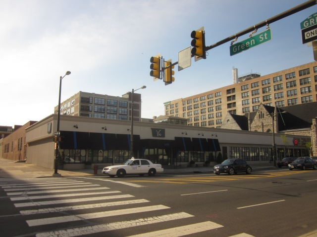 600 N. Broad Street apartments and restaurants