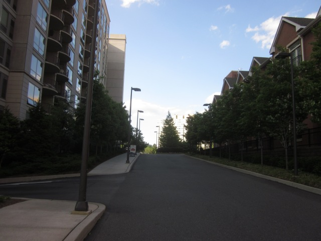 Driveway leading into Edgewater, from Race Street