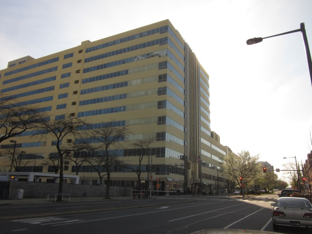 1500 Spring Garden Street office building, once the headquarters of Smithkline Pharmaceuticals
