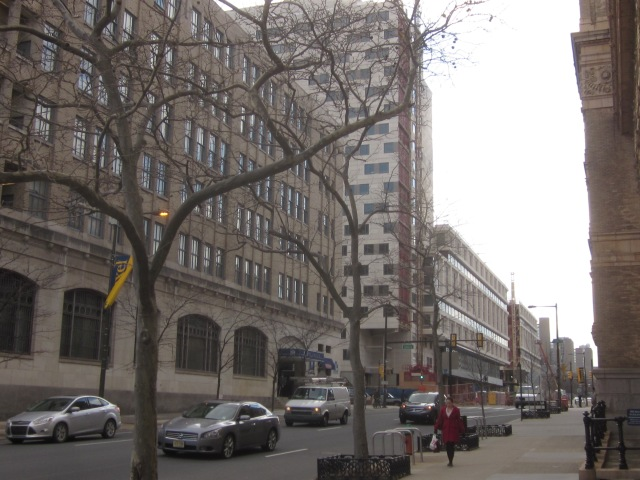 Chestnut Square, also developed by Drexel and American Campus Communities, and the Left Bank Apartments, at 32nd and Chestnut Streets