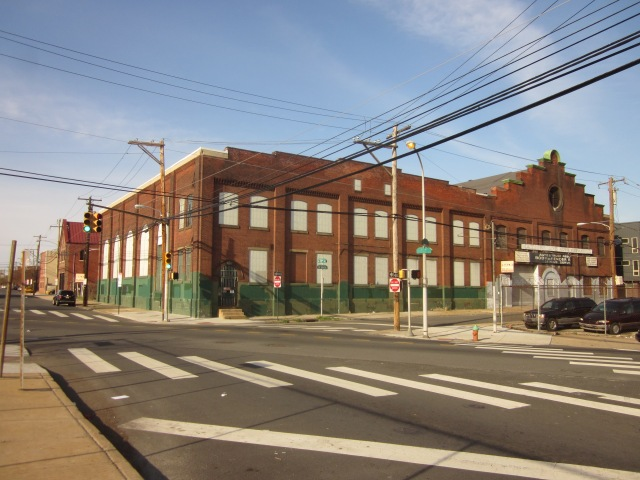 1221 Mt. Vernon Street and existing SEPTA electrical substation