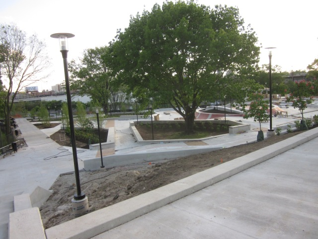 Paine's Park will be a new skate park, near Edgewater II, between Schuylkill Banks and the Parkway