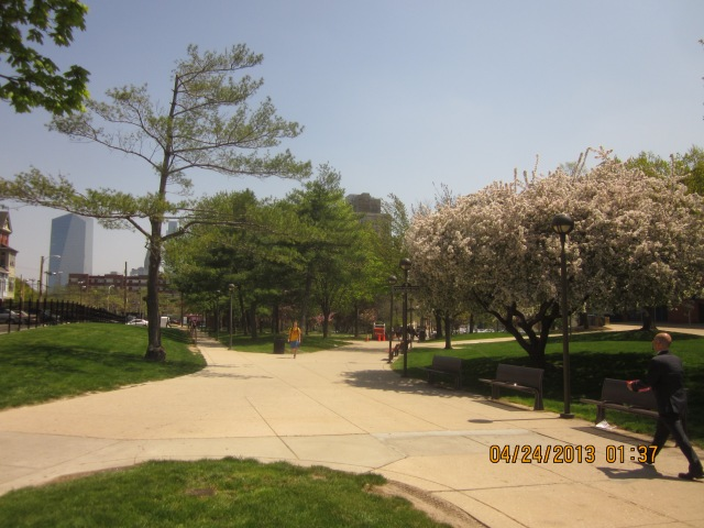 Lancaster Walk on Drexel's campus
