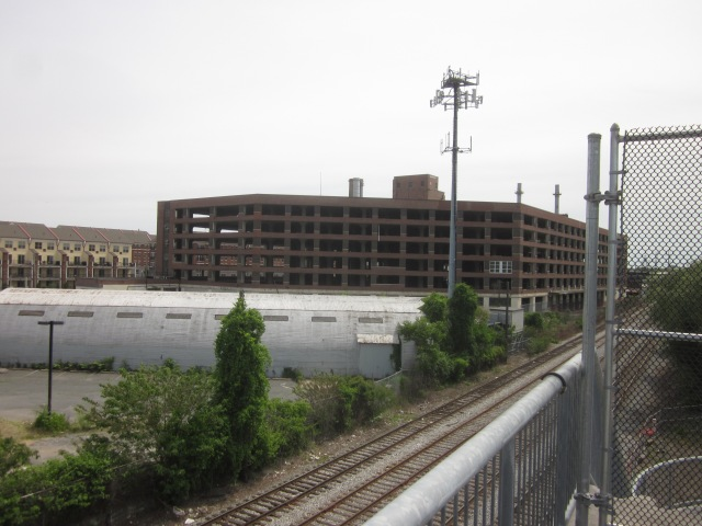Site of future expansion of Children's Hospital of Philadelphia, along Schuylkill Avenue and across the street from Naval Square