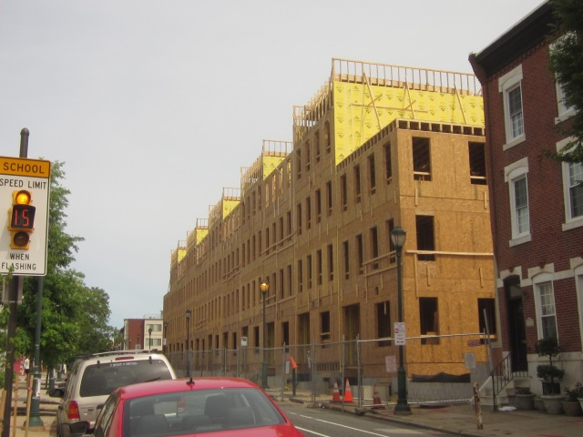 2400 South Street under construction