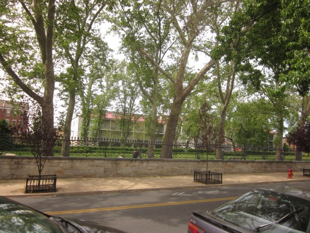 Naval Square, on Grays Ferry Avenue