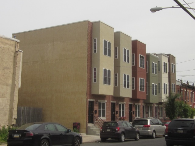New homes on 24th Street, just south of Ellsworth Street