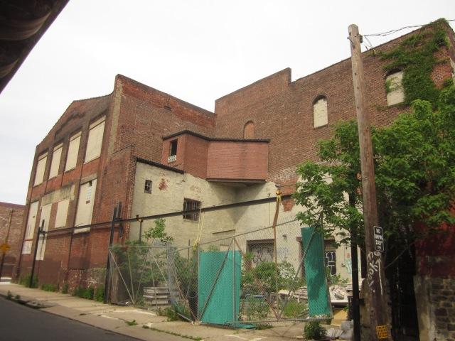 Facade of 2408 Ellsworth Street along 25th Street