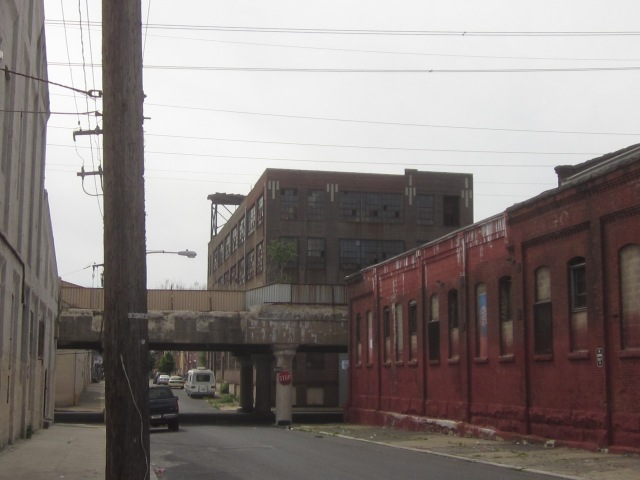 More vacant industrial buildings, along 25th Street, that could be renovated someday