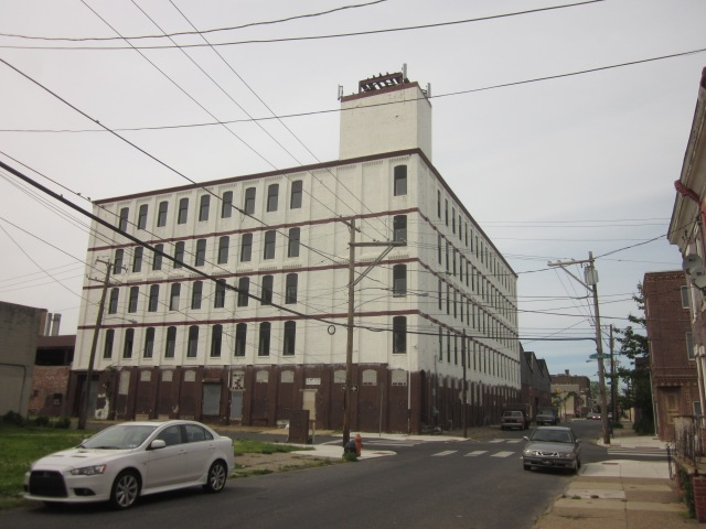 Vacant industrial building, at 24th & Ellsworth Streets, could be renovated someday