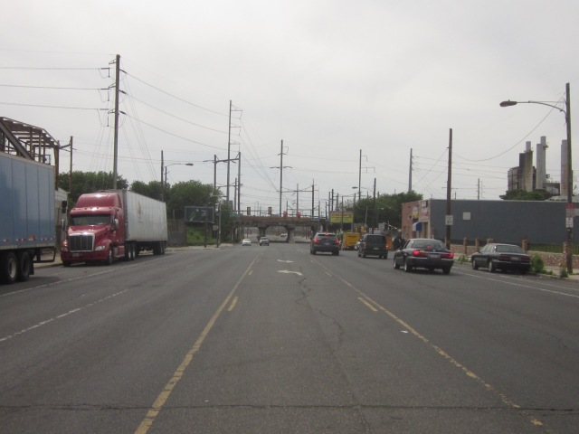 Looking west down Washington Avenue