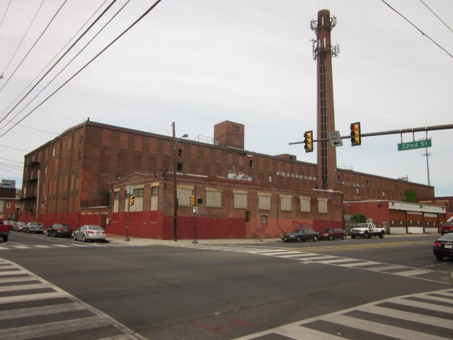 This vacant warehouse, @ 22nd Street and Washington Avenue, may be converted into apartments soon